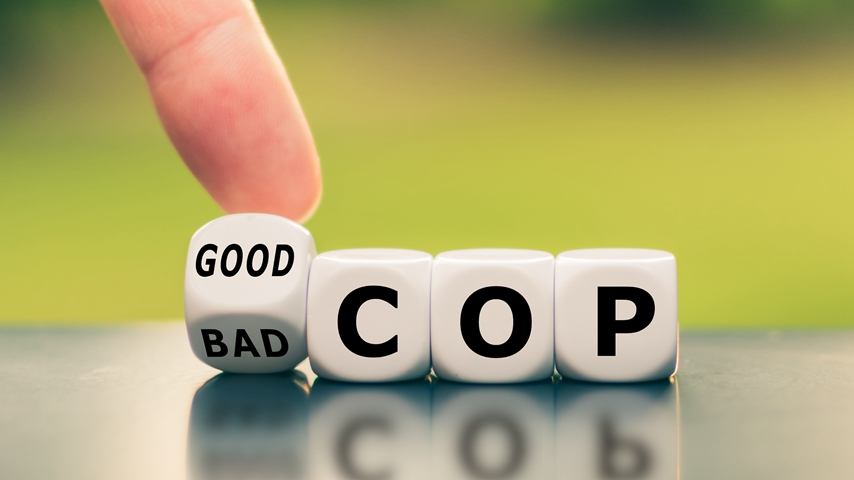 """Is """"Good Cop/Bad Cop"""" a Good Strategy in Parenting?"""