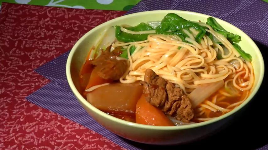 Braised Tomato Noodle Soup