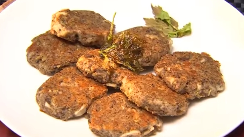 Flaxseed Patty with Cheese