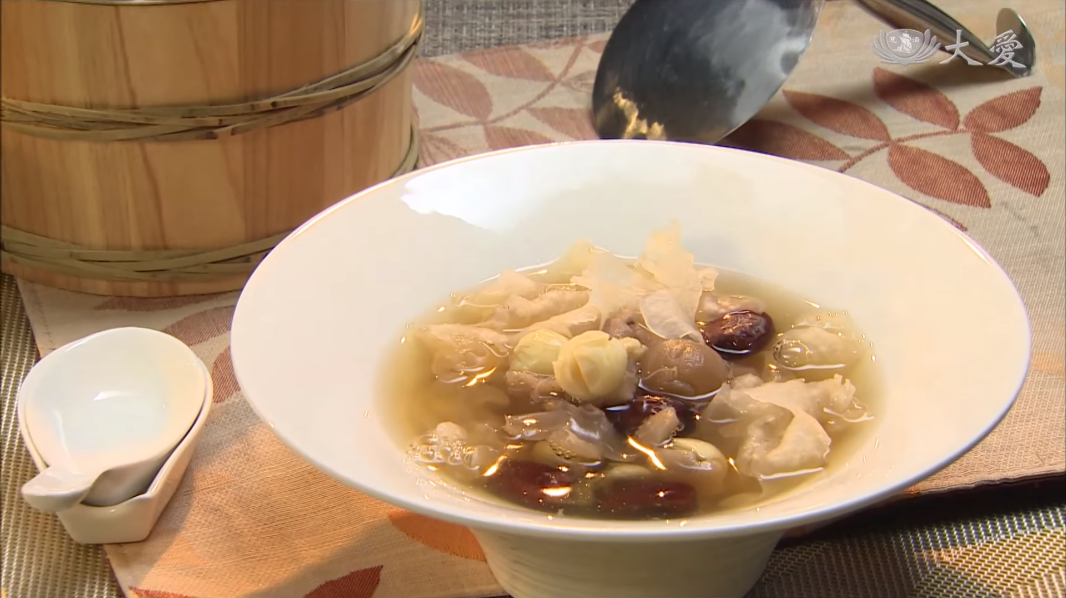 Red Dates Longan Dessert Soup