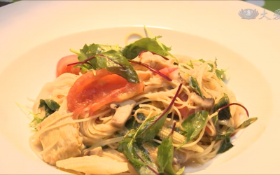 Vegetables and Tomato Pasta