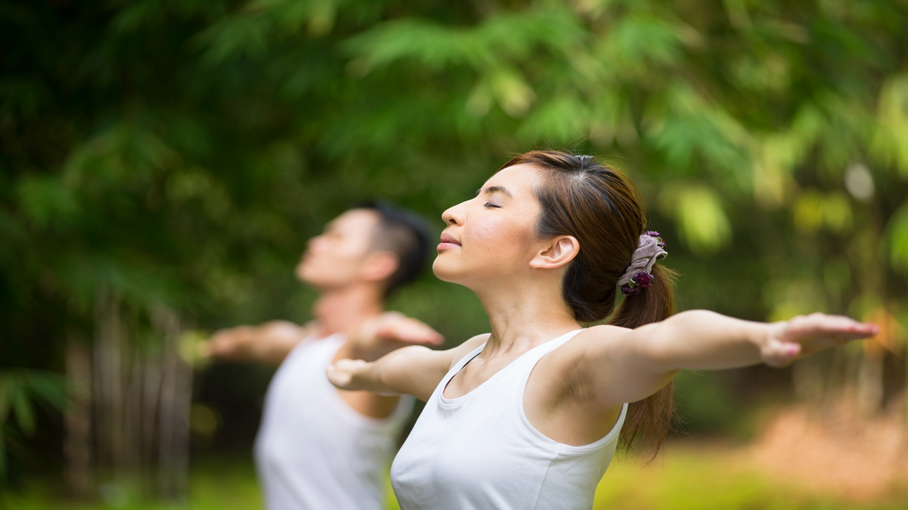 An Exercise to Boost Lung Energy